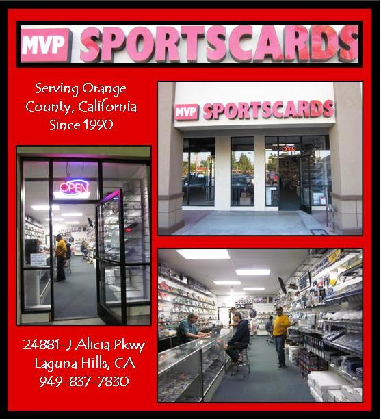 10 20 11 STORE PICTURES 4 Welcome to MVP Sportscards!