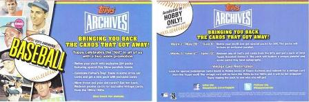 2013 Topps Archives Promo
