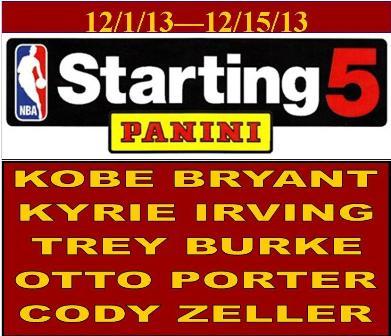 12-2-13 Starting 5-1