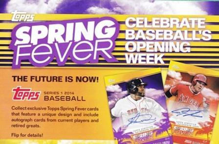 2014 Topps Spring Fever