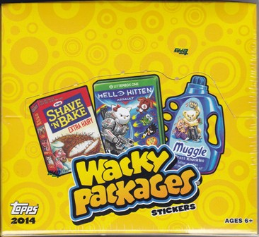 14 T Wacky Packages