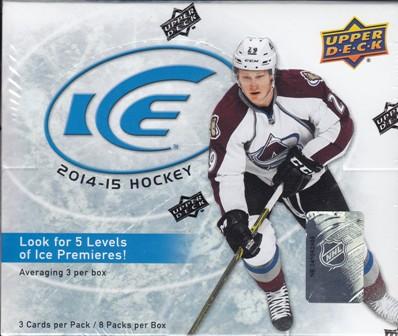 14 15 Ice Hk 2014 15 Upper Deck Ice Hockey Hobby Box