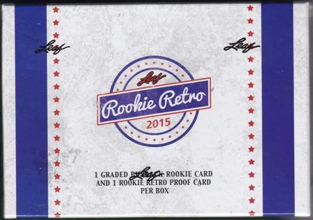 15 L Rookie Retro 2015 Leaf Rookie Retro Hobby Box