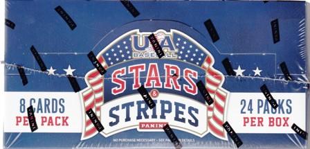 15 Panini Stars Stripes BB 2015 Panini USA Stars & Stripes Baseball Hobby Box