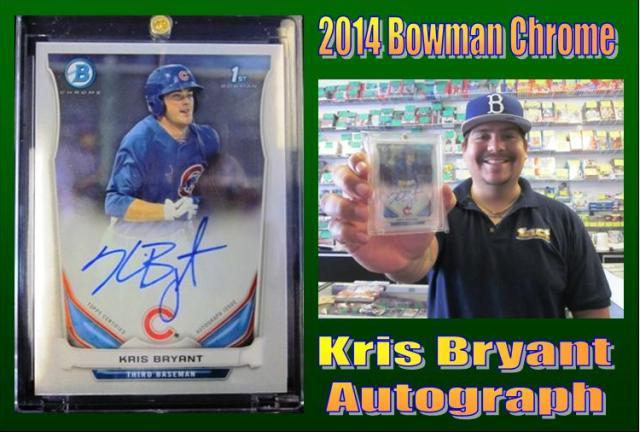 4 10 15 Jorge Kris Bryant 2014 Bowman Chrome Kris Bryant Autograph