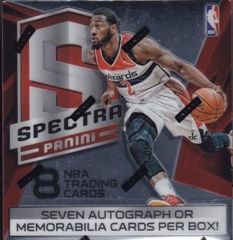 14 15 Spectra Bk 2014 15 Panini Spectra Basketball Hobby Box