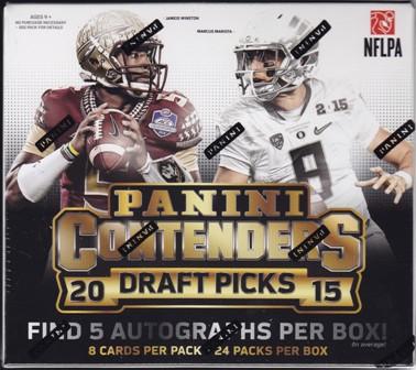 15 Cont Fb 2015 Panini Contenders Draft Picks Football Hobby Box