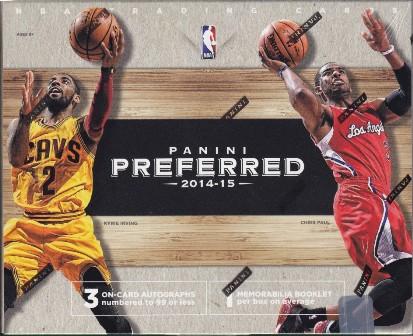 14 15 Preferred Bk 2014 15 Panini Preferred Basketball Hobby Box