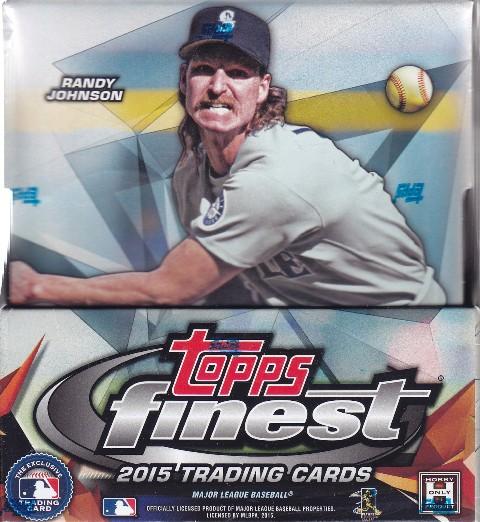 15 Finest Bb1 2015 Topps Finest Baseball Hobby Box