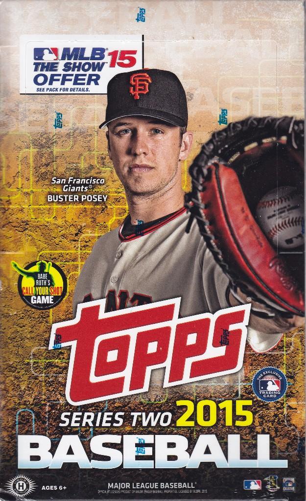 15 T Bb 2015 Topps 2 Baseball Hobby Box