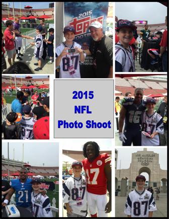 6 2 15 NFL Photo Shoot NFL Rookie Photo Shoot