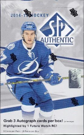 Jun30 05 2014 15 SP Authentic Hockey Hobby Box