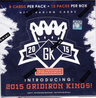 15 GK Fb 2015 Panini Gridiron Kings Football Hobby Box