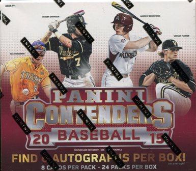 15 Cont Bb 2015 Panini Contenders Baseball Hobby Box