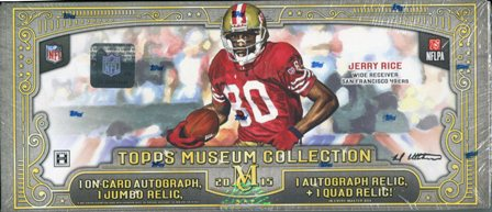 img423 2015 Topps Museum Collection Football Hobby Box