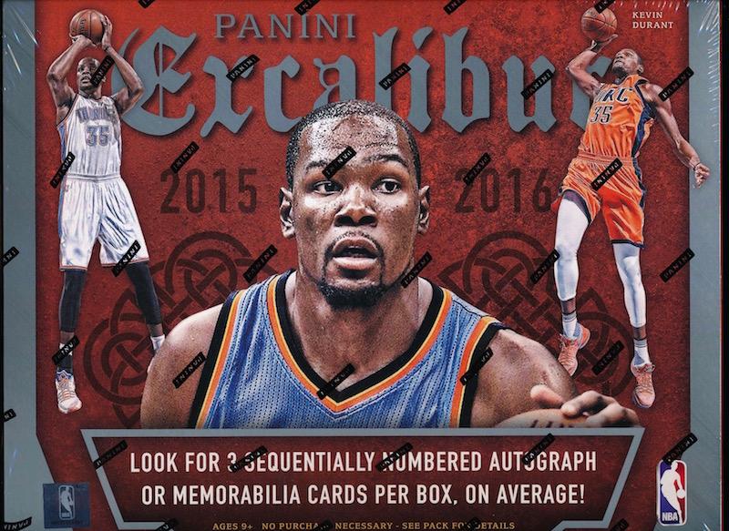 Excalibur 2015 16 Panini Excalibur Basketball Hobby Box