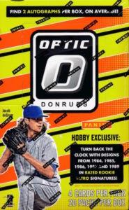 16 D 185x300 2016 Panini Donruss Optic Baseball Hobby Box