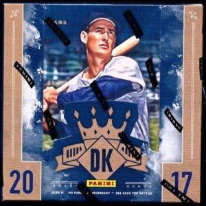 2017 Panini Diamond Kings Baseball Hobby Box Mvp Sports Cards