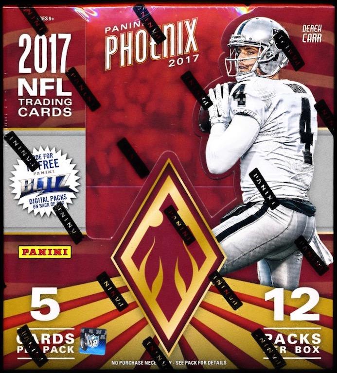 Tujuh Panini Phoenix Football Hobby Box Mvp Sports Cards
