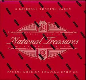 2018 National Treasures Baseball Hobby Box Mvp Sports Cards