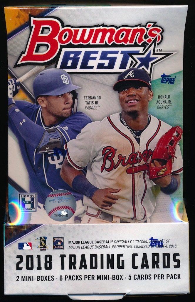 2018 Bowmans Best Baseball Hobby Box Mvp Sports Cards