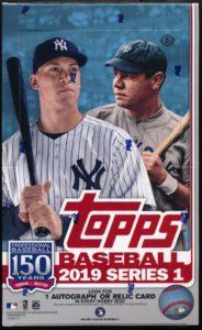 2019 Topps Series 1 Baseball Hobby Box 1 Silver Pack Mvp